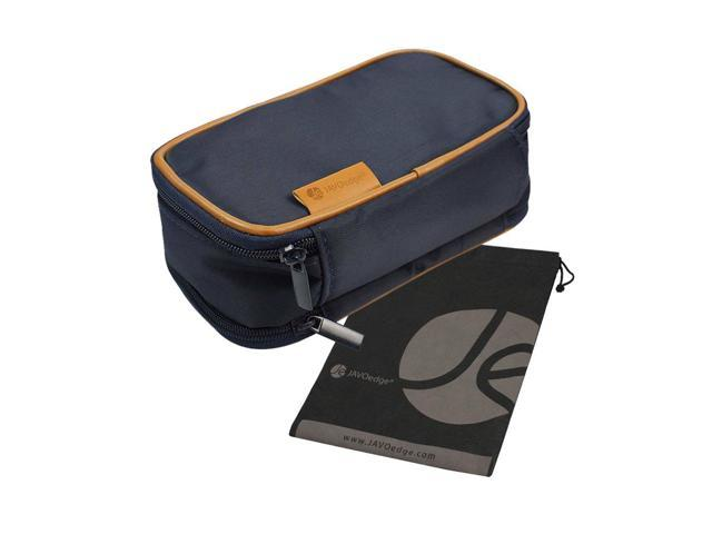 Double Sided Makeup Cosmetic Bag And Jewelry Travel Multi Function Organizer Dark Blue Newegg