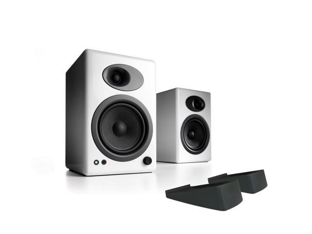 Audioengine A5 Classic Powered Bookshelf Speakers With Stands