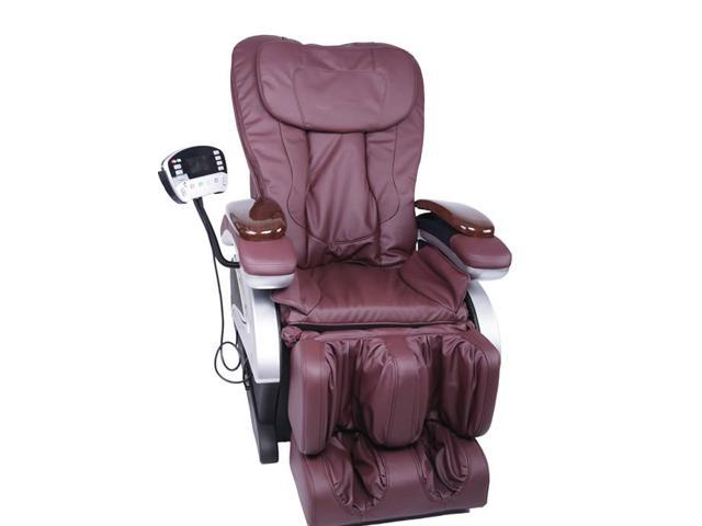 Bestmassage Bm Ec06c Electric Full Body Shiatsu Massage Chair Recliner With Stretched Foot Rest Burgundy