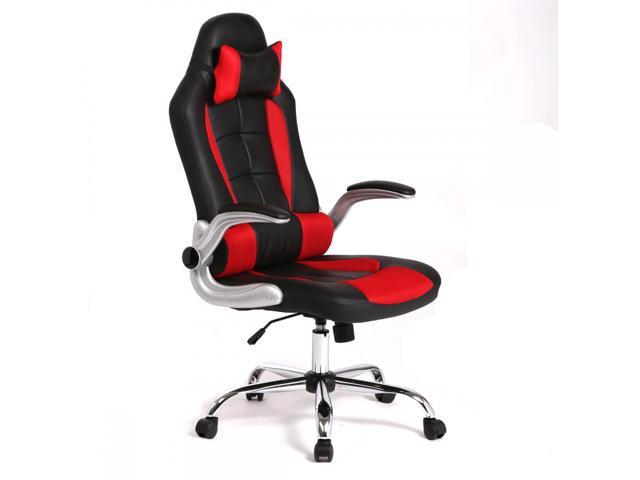 red office chairs. Red High Back Racing Car Style Gaming Office Chair C55 Chairs T