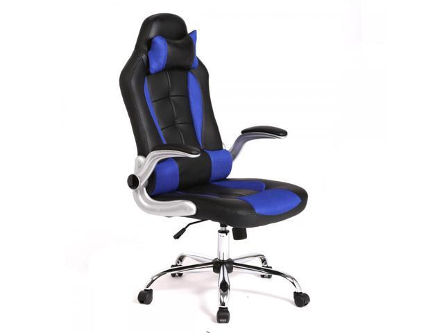 Blue High Back Racing Car Style Gaming Office Chair C55