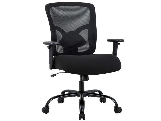 Bestoffice And Tall 400lb Office Chair Desk Ergonomic Executive Rolling Swive Adjule Arms Mesh Back Computer Task Stool With Lumbar Support