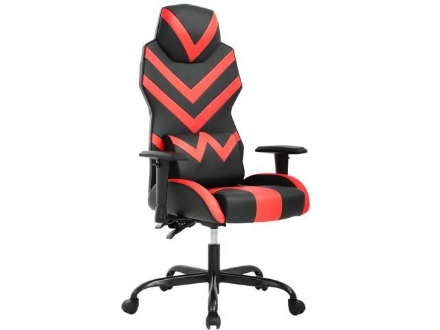 Tremendous High Back Gaming Office Chair Racing Style Computer Desk Chair Ergonomic Executive Swivel Rolling Chair With Lumbar Support For Women Men Red Squirreltailoven Fun Painted Chair Ideas Images Squirreltailovenorg