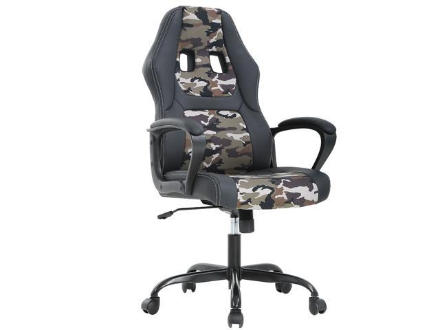Peachy Ergonomic Office Chair Cheap Desk Chair Pc Gaming Chair Rolling Pu Leather Swivel Chair Executive Computer Chair Lumbar Support For Women Men Camo Squirreltailoven Fun Painted Chair Ideas Images Squirreltailovenorg