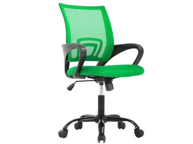 Ergonomic Office Chair Cheap Desk Chair Mesh Executive Computer Chair  Lumbar Support for Women&Men, Green