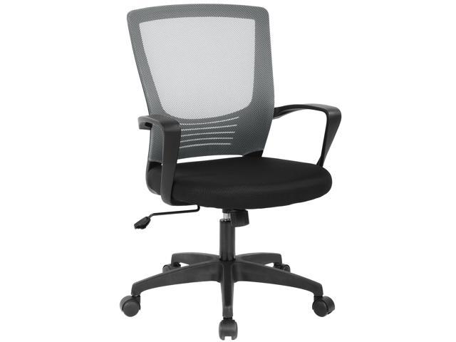 Phenomenal Ergonomic Office Chair Cheap Desk Chair Modern Executive Computer Chair Rolling Swivel Adjustable Chair Mesh Back Support For Womenmen Grey Inzonedesignstudio Interior Chair Design Inzonedesignstudiocom