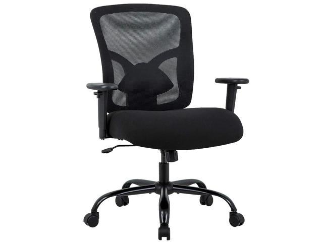 Outstanding Big And Tall 400Lb Office Chair Ergonomic Executive Desk Chair With Lumbar Theyellowbook Wood Chair Design Ideas Theyellowbookinfo