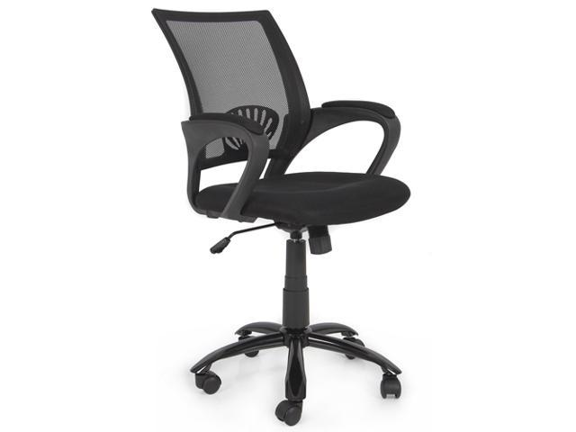 ergonomic mesh midback computer office task chair w metal base