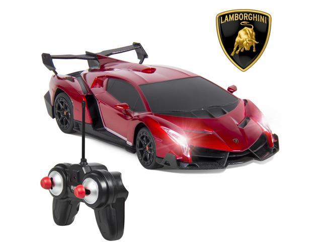 Best Choice Products 1/24 Officially Licensed RC Lamborghini Veneno Sport  Racing Car W/