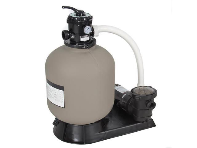 best choice products 4500gph above ground swimming pool pump system ...