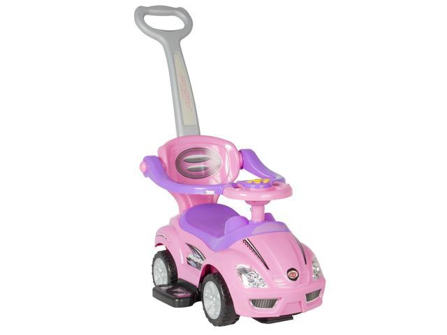 Best Choice Products 3 In 1 Kids Push And Pedal Toddler
