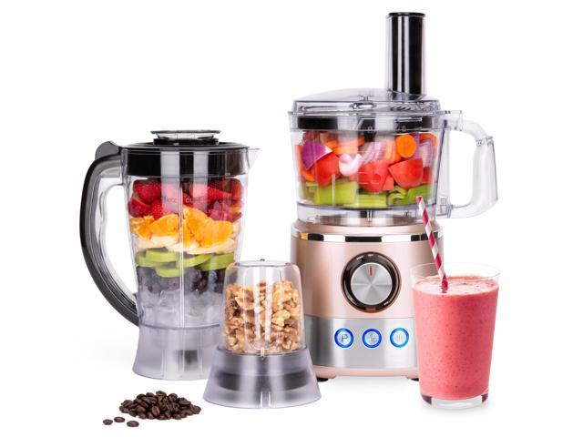 Best Choice Products 650W All-In-One Multifunctional Food Processor,  Blender, & Grinder w/ 10 Attachments for Food Prep