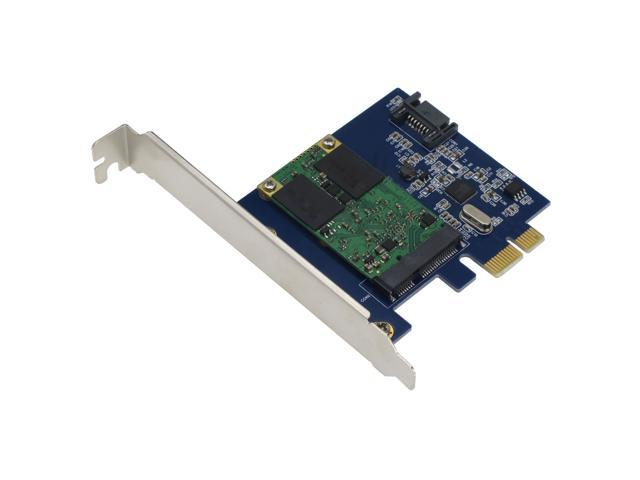 PCI//PCIe Mounting Adapter for Dual mSATA SSD SEDNA SATA III