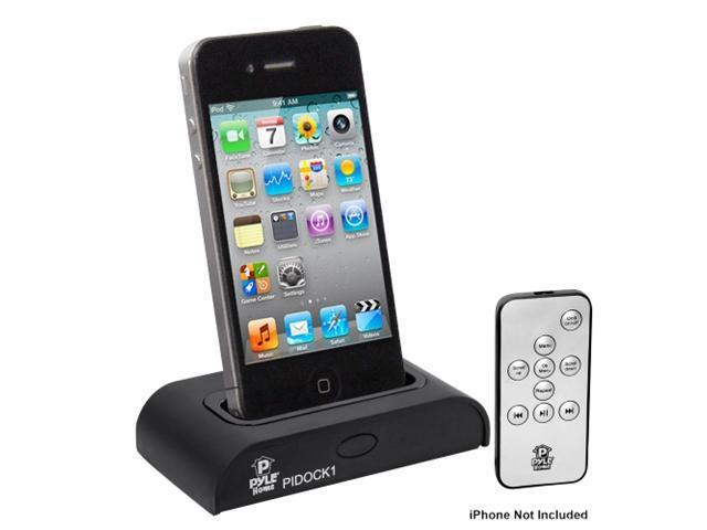 Sync with iTunes and Remote Control Charging Pyle Home PIDOCK1 Universal iPod//iPhone Docking Station for Audio Output
