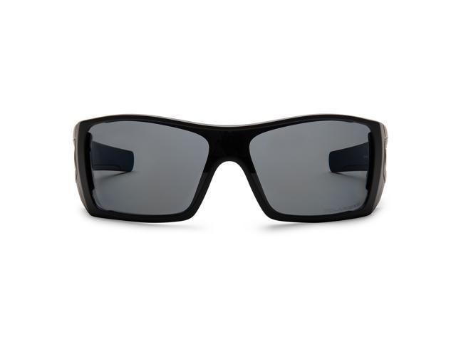Oakley Batwolf Lenses >> Oakley Batwolf Sunglasses Matte Black Gray Polarized Newegg Com