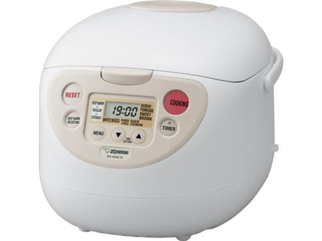 Image of Zojirushi Micom Rice Cooker and Warmer (5.5-Cup/ Cool White)