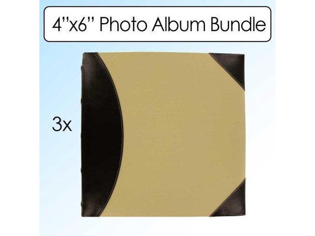 Pioneer Photo Albums Fabric Leatherette 500 Photo Album 4x6 2 Up 3