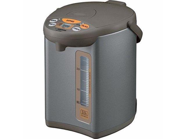Image of Zojirushi CDWCC30 Micom 3-Liter Water Boiler and Warmer, Silver Brown