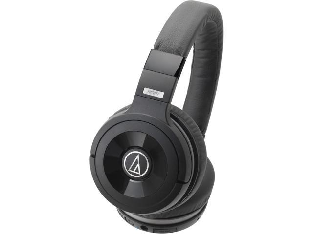 1076d4b95459d5 Audio-Technica ATH-WS99BT Solid Bass Wireless Over-Ear Headphones with  Built-in Mic & Control