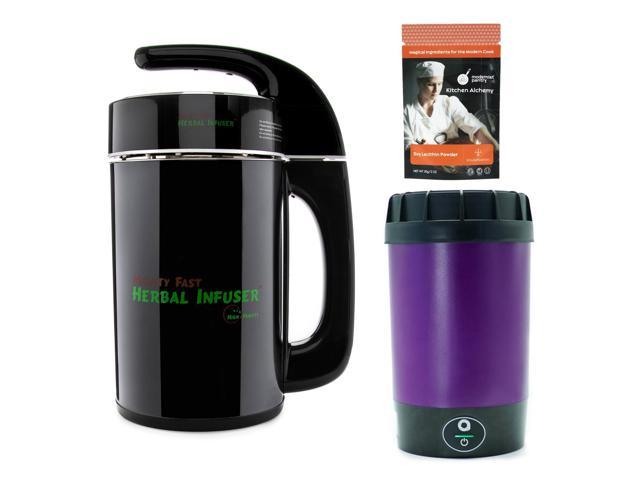 Mighty Fast Herbal Infuser and Ardent Nova Decarboxylator with 2oz Soy  Lecithin - Newegg com