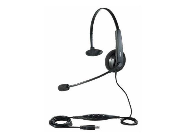 jabra biz 620 mono usb headset w noise canceling microphone. Black Bedroom Furniture Sets. Home Design Ideas