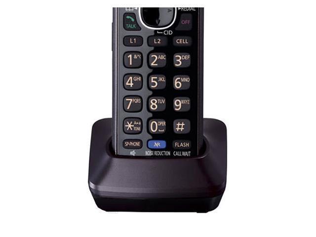 Panasonic KX-TG9541B 1 Handset Cordless Phone New