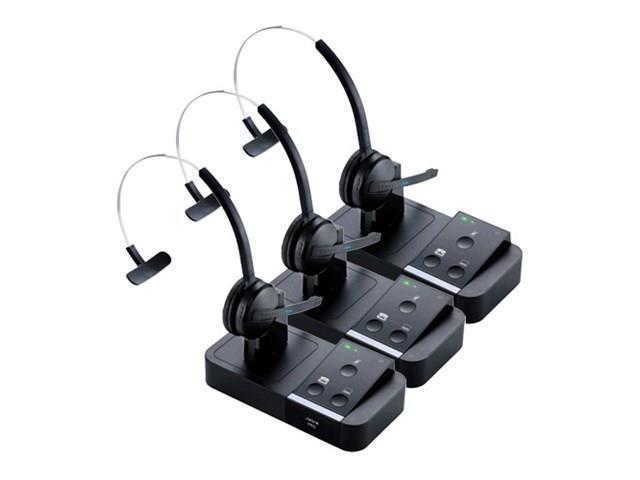 Jabra PRO 9450 PeakStop Technology Mono Wireless Headset F/ Desk Phone U0026  Computer (3
