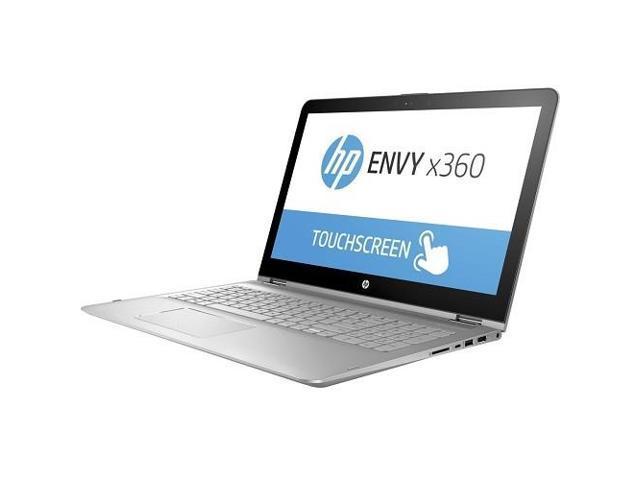 15.6-in FHD IPS WLED 1920x1080 Win10 Home64 W2K50UA#ABA Intel Core i7-7500U HP Envy x360 Convertible 2-in-1 Laptop 15-aq165nr 1TB HDD 8GB RAM