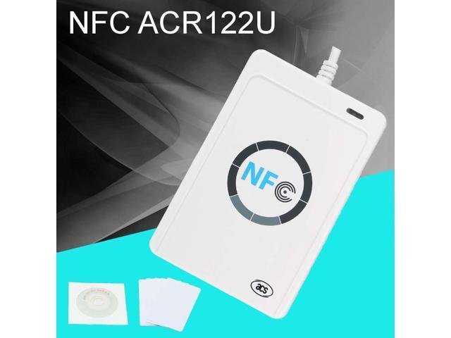 NFC ACR122U RFID Contactless Smart Reader & Writer/USB SDK Mifares IC Card  - Newegg com