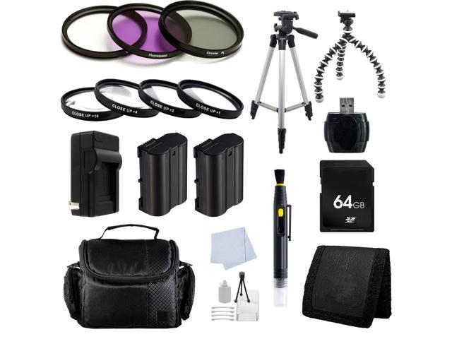 Advanced Accessory Package for Nikon D750 FX-format Digital
