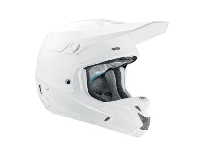 c4e2dc0a Thor Motorcycle Helmet Visor Kit for Verge Motorcycle Helmets - White ...