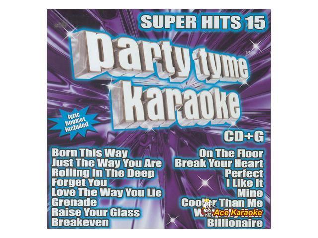 Party Tyme Karaoke CDG SYB1106 - Super Hits 15 - Newegg com