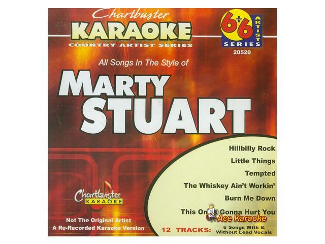 Chartbuster 6X6 CDG CB20520 - Marty Stuart CDG - Newegg com