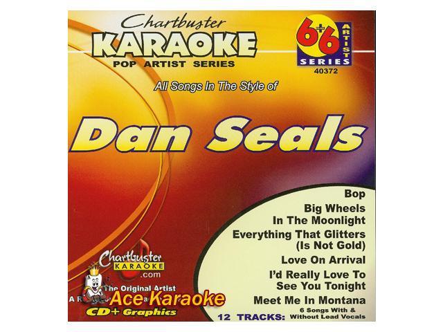 Chartbuster Karaoke 6X6 CDG CB40372 - Dan Seals - Newegg com