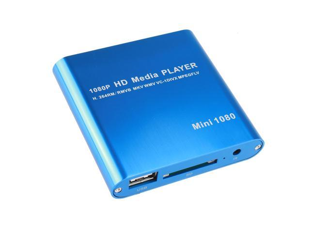 Western Mini 1080P Full HD Digital Media Player-MKV/RM-SD/USB HDD-HDMI for  Windows and MAC OS with remote control - Newegg com