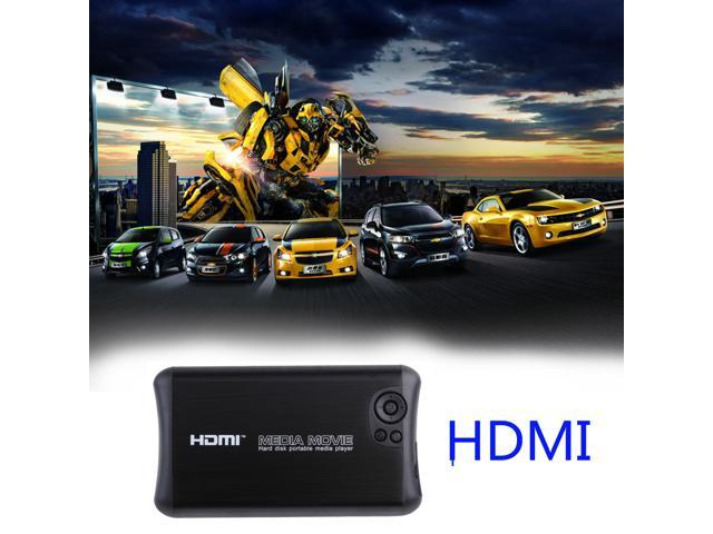 Portable Full 1080p HD Hard Disk Media Player HDMI, Av Output, 2 Inputs Sd  Card & USB Reader & SATA or IDE Hard Disk, Digital Auto-play &