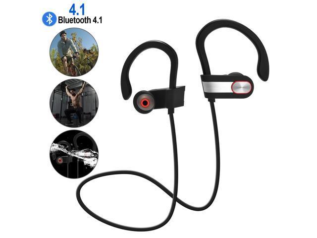 Waterproof Bluetooth Earbuds Beats Sports Wireless Headphones Stay In Ear Design Bluetooth 4 1 Newegg Com