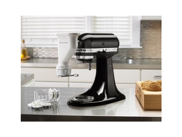 KitchenAid KPEXTA Gourmet Pasta Press White - Newegg.com