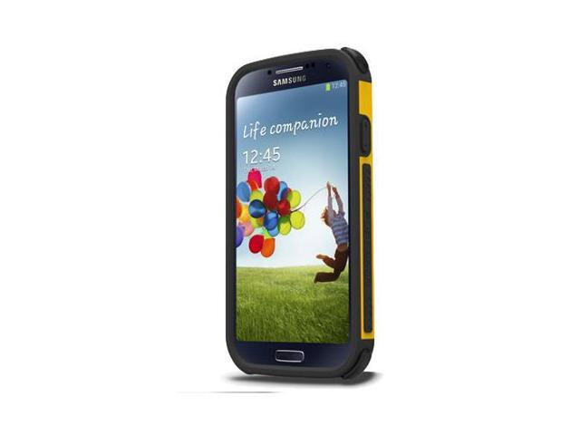 low priced 335f9 05797 Yellow PureGear DualTek Extreme Impact Protector Case for Samsung Galaxy S4  - Newegg.com