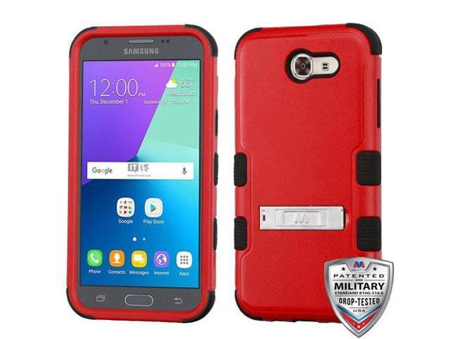 newest collection 8d5aa 8b73f For Samsung Galaxy Express Prime 2/J3 Red/Black TUFF Hybrid Phone Protector  Case - Newegg.com