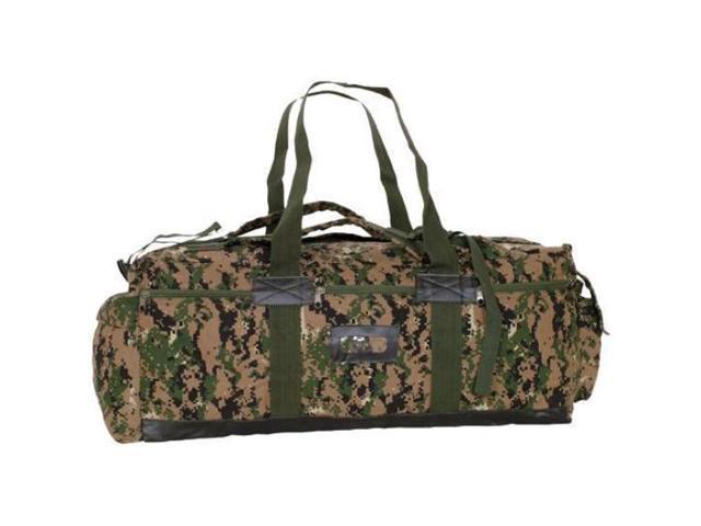 725b4c497c26 Digital Woodland Camouflage Idf Canvas Tactical Duffle Bag - 15 X 34 X 12
