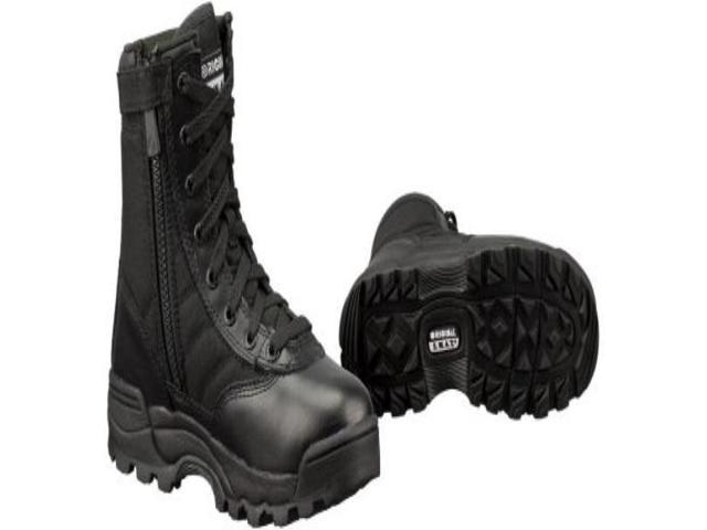d06d4a29658 Women's Classic 9 Inch Side Zip Tactical Boot, Black, 8 B US -  1152F-BLK-08.0 - Original Swat - Newegg.ca