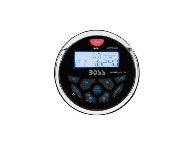 Boss Audio MGR350B Boss Audio Marine AM//FM//BT Receiver Gauge style