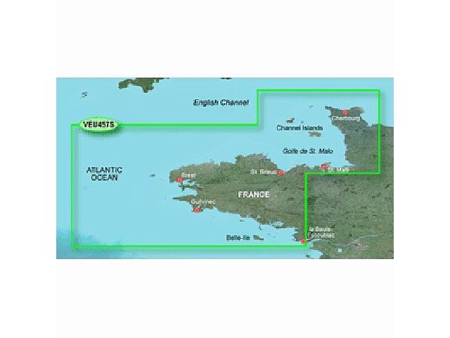 Garmin Charts 010-C0801-00 Veu457S Bretagne - SD Card G2 Vision - Newegg com