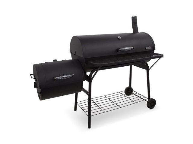 Oklahoma Joe's Longhorn Offset Smoker and Charcoal Grill - Newegg com