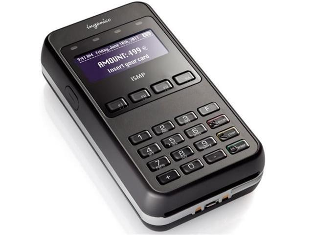 Ingenico IMP657-USSCN01A ISMP4 Companion Mobile POS Payment Terminal -  Blank - Newegg com