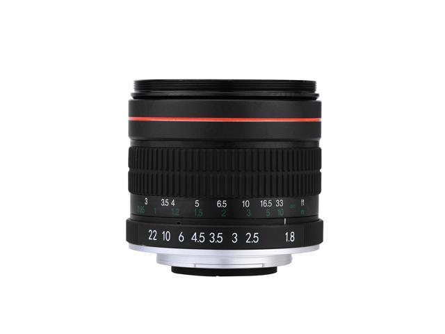 kelda 85mm f1 8 manual focus portrait lens for nikon dslr camera rh newegg com nikon dslr d3200 manual nikon slr manual