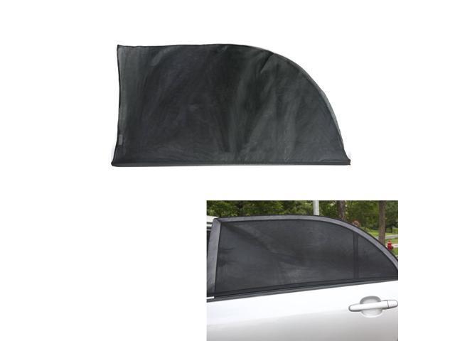 2PCS Adjustable Car Window Sun Shades UV Protection Shield Mesh Cover Visor  Sunshades Window Foil U0026