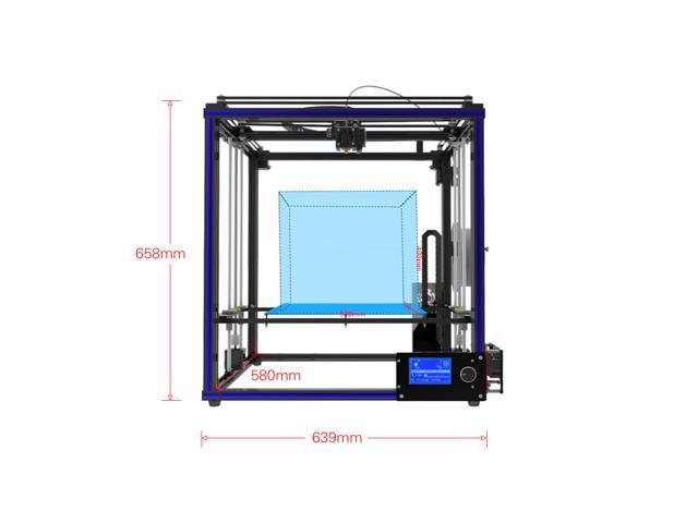 Tronxy X5S DIY 3D Printer Kits Dual Z Axis Large Print Size 330 * 330 *  400mm with LCD12864 Screen Metal Frame High Precision - Newegg com