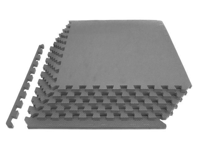 Prosource fit extra thick puzzle exercise mat ¾u201d eva foam